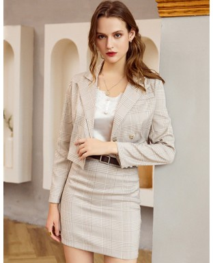 Zaylee Two Piece Skirt Suit