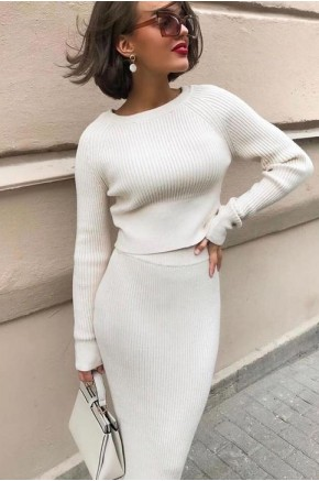 Elza Top and Skirt Co-ord