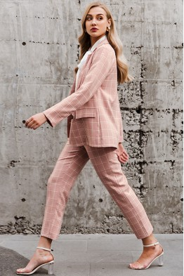 Brigitte Suit Co-ord Set in Pink