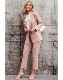 Brigitte Suit Co-ord Set in Pink