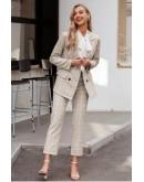 Brigitte Suit Co-ord Set in Apricot