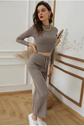 Oriana Basic Pants Set